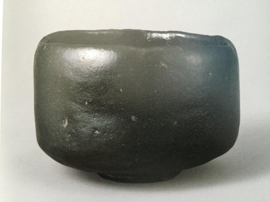 黒楽茶碗 銘「俊寛」