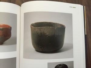 光悦の黒楽茶碗。茶巾ひっかかりそうなところとかロックである。